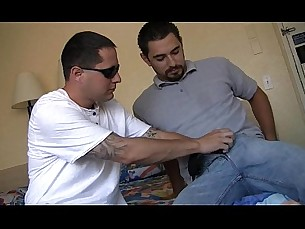 Latin thug with a big dick fucking